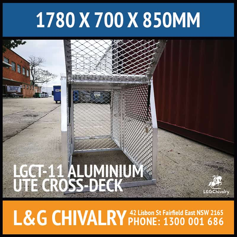 Lgct 11 Aluminium Ute Cross Deck Cover