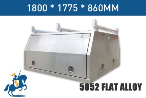 1800x1775x860 5052 Flat Alloy