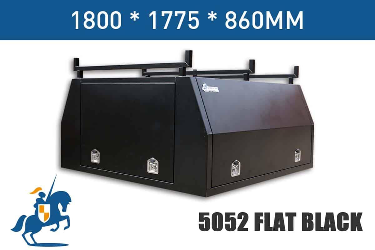 1800x1775x860 5052 Flat Black