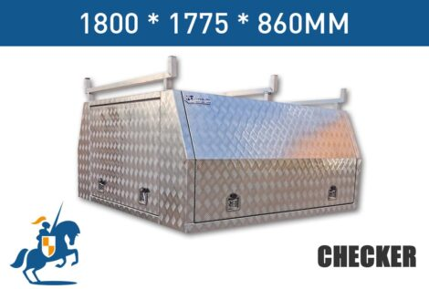 1800mm Checker Plate Canopy