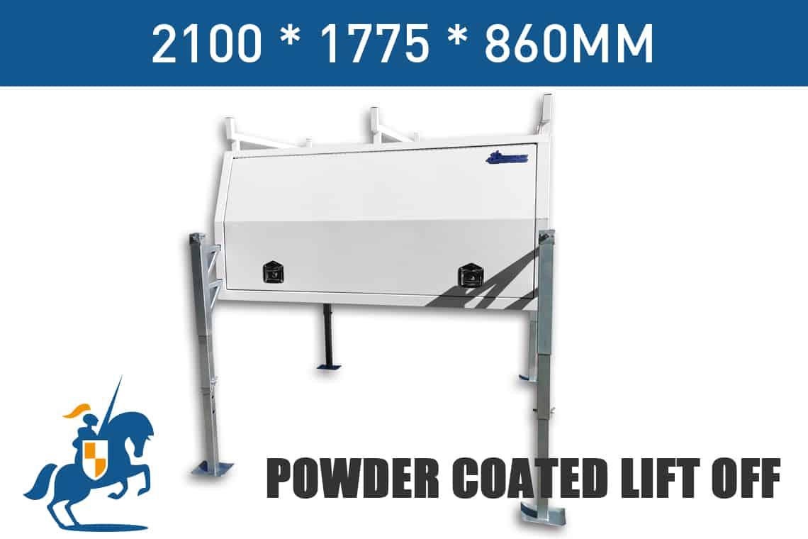 2100x1775x860 Powder Coated Lift Off