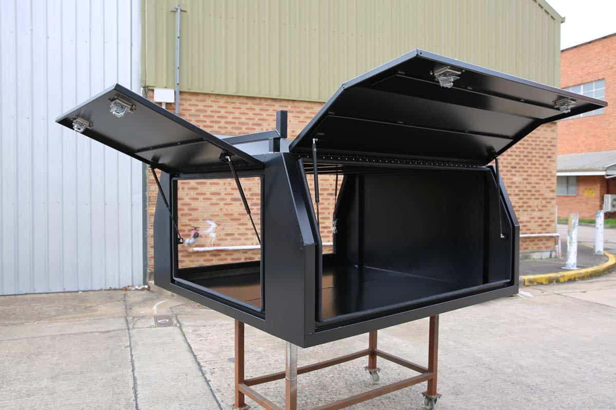 2100mm Canopy 5052 Flat Black1