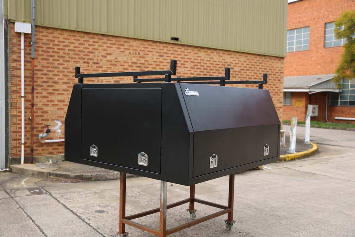 2100mm Canopy 5052 Flat Black11