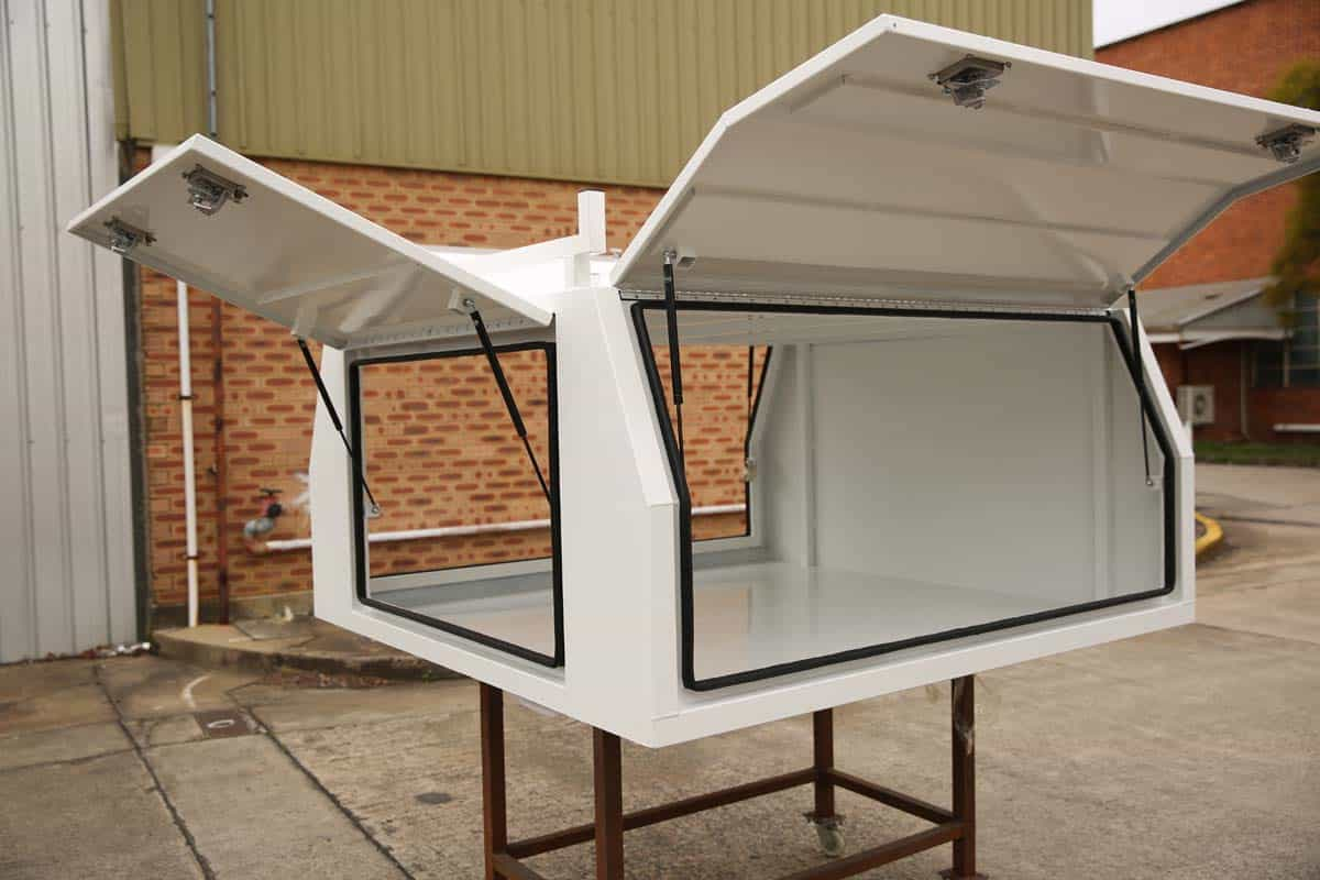 2100mm Canopy 5052 Flat White1