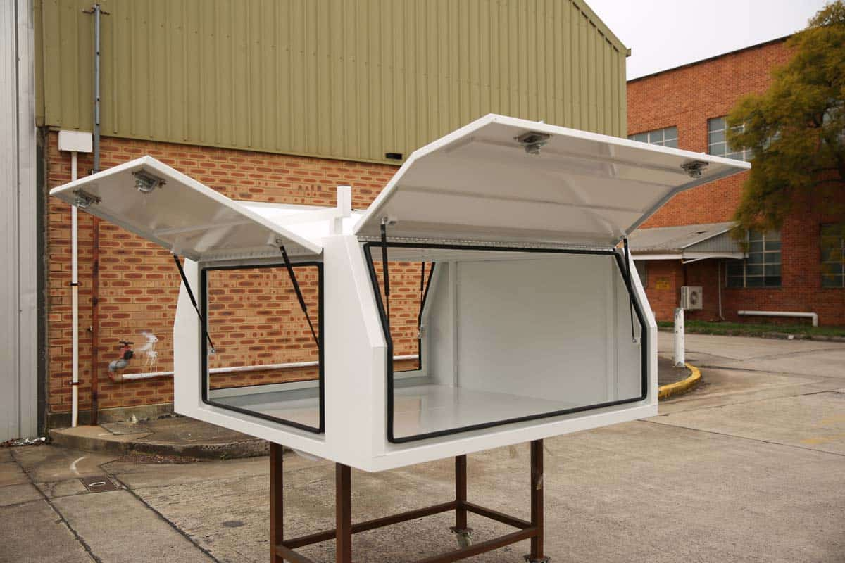 2100mm Canopy 5052 Flat White2
