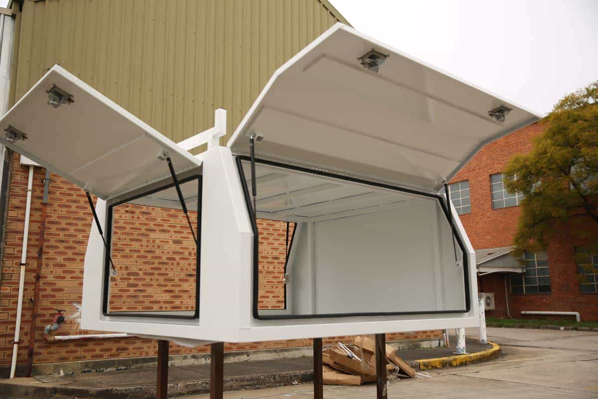 2100mm Canopy 5052 Flat White3