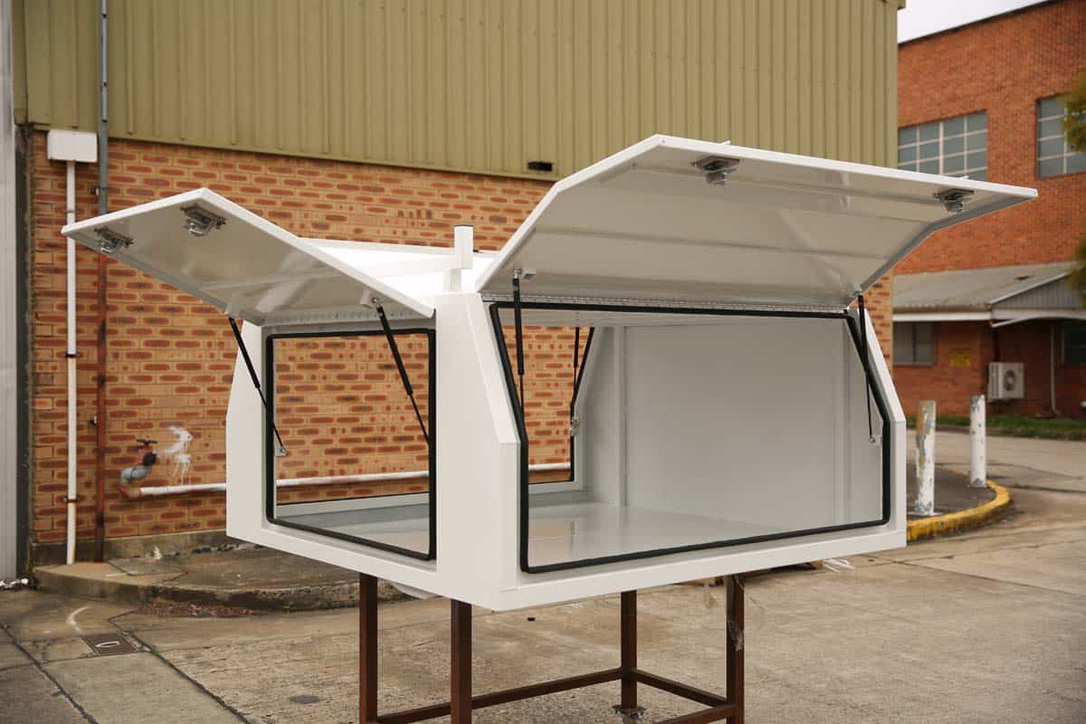2100mm Canopy 5052 Flat White5