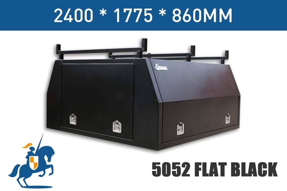 2400x1775x860 5052 Flat Black
