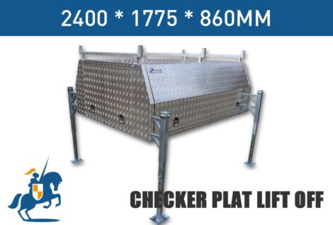 2400x1775x860 Checker Plat Lift Off