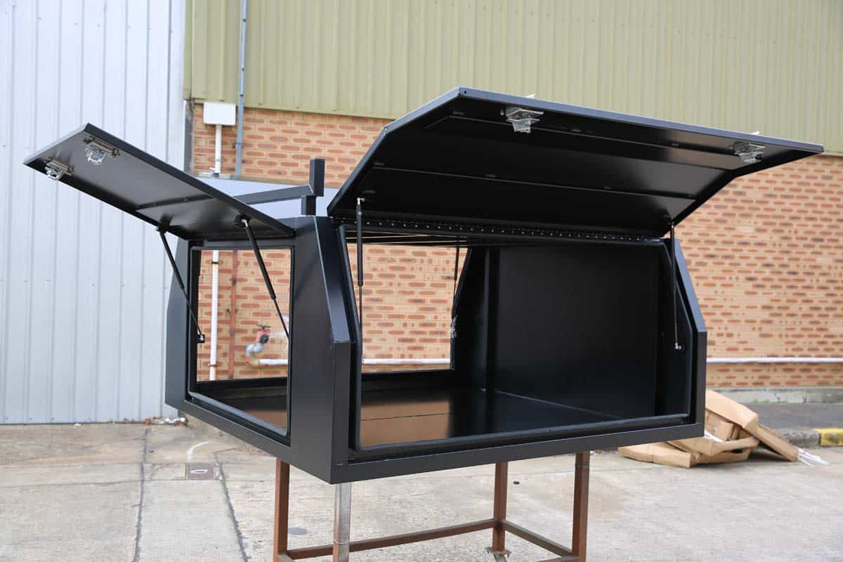 2400mm Canopy 5052 Flat Black3