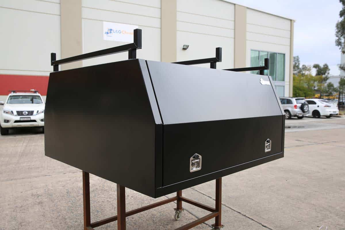 2400mm Canopy 5052 Flat Black4
