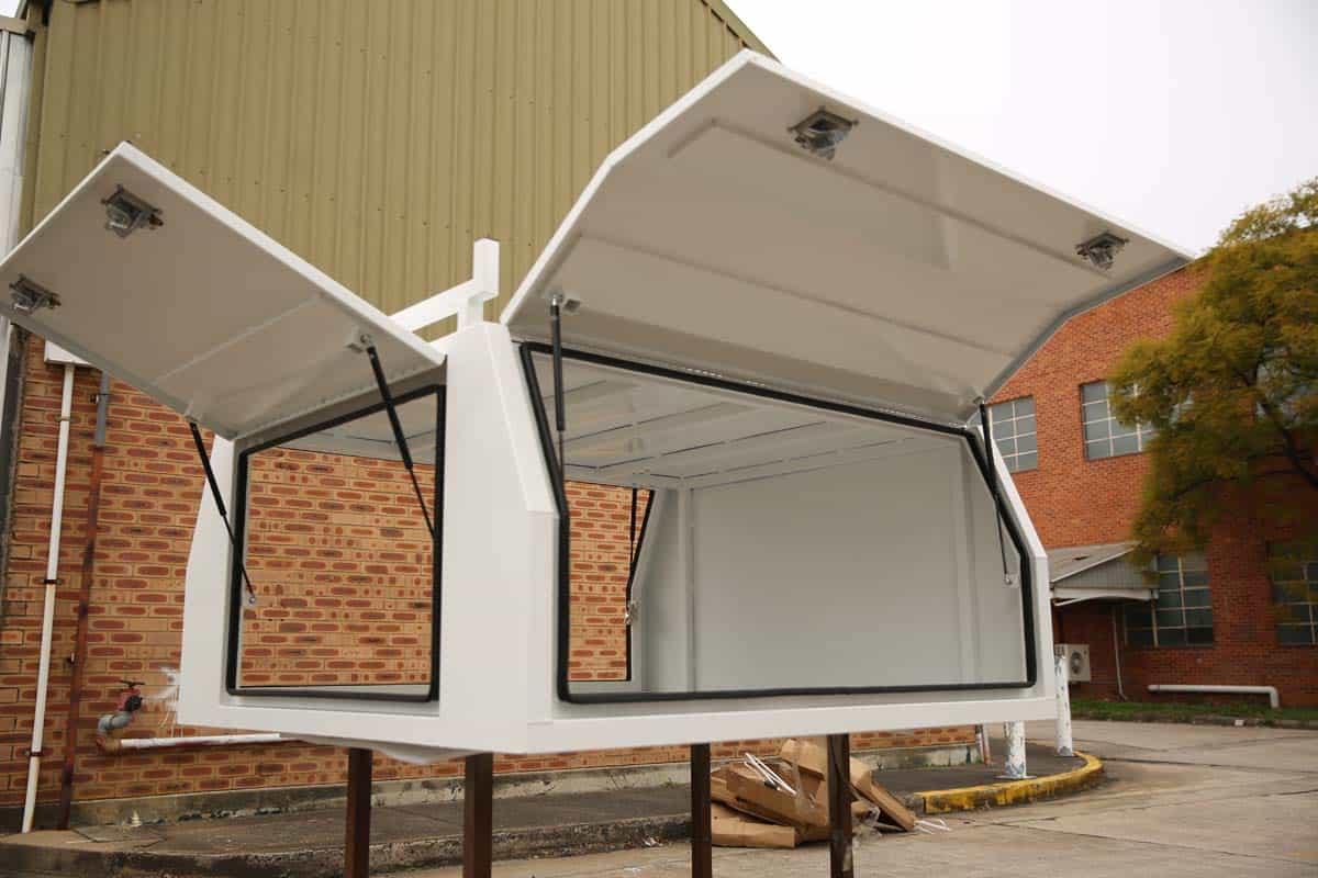 2400mm Canopy 5052 Flat White3