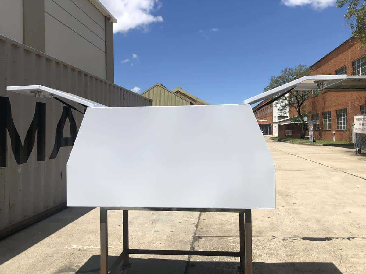 700mm Canopy Flat White1