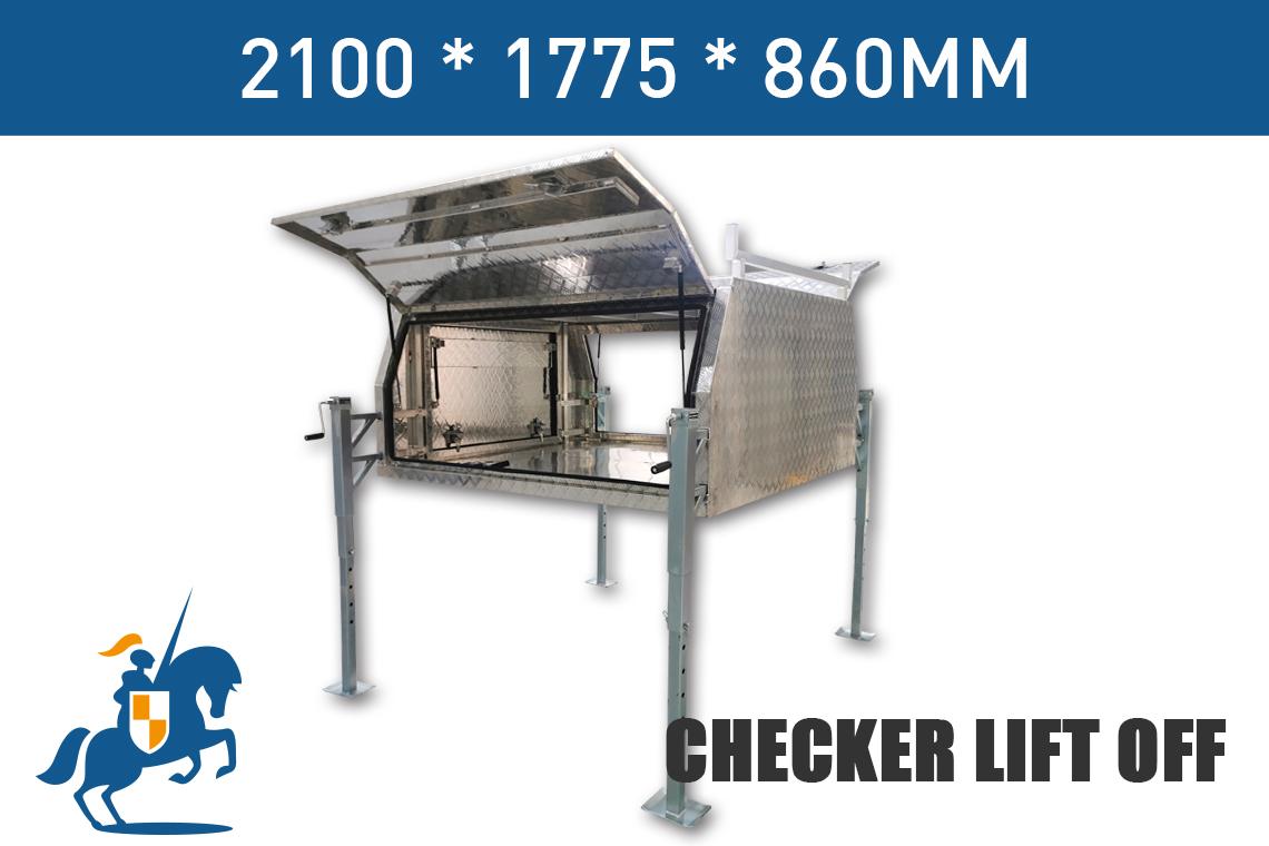 2100 1775 860 Checker Lift Off