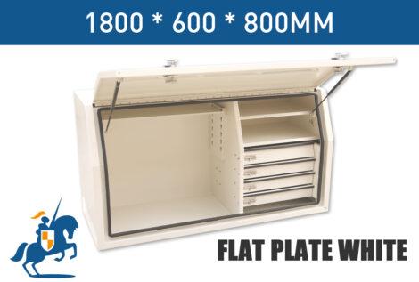 4 1800 600 800 Flat Plate White