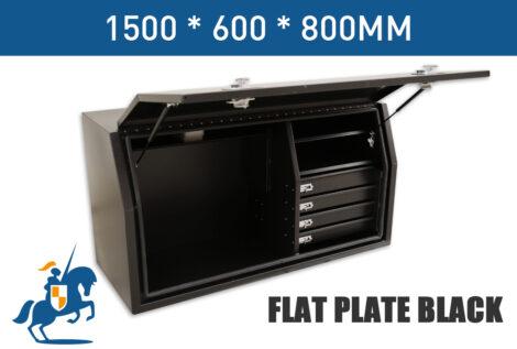 5 1500 600 800 Flat Plate Black