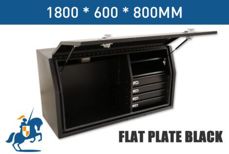 5 1800 600 800 Flat Plate Black