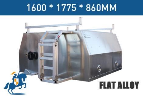 1600 1775 860 Flat Alloy