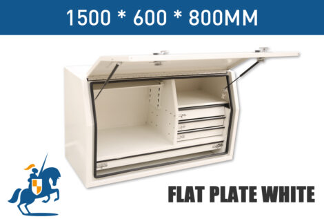 7 1500 600 800 Flat Plate White