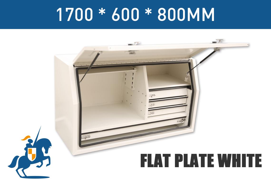1700 600 800 Flat Plate White