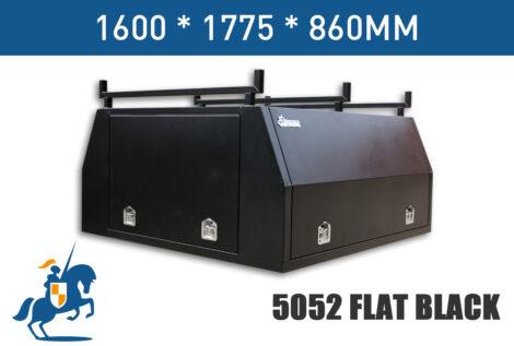 1600x1775x860 5052 Flat Black