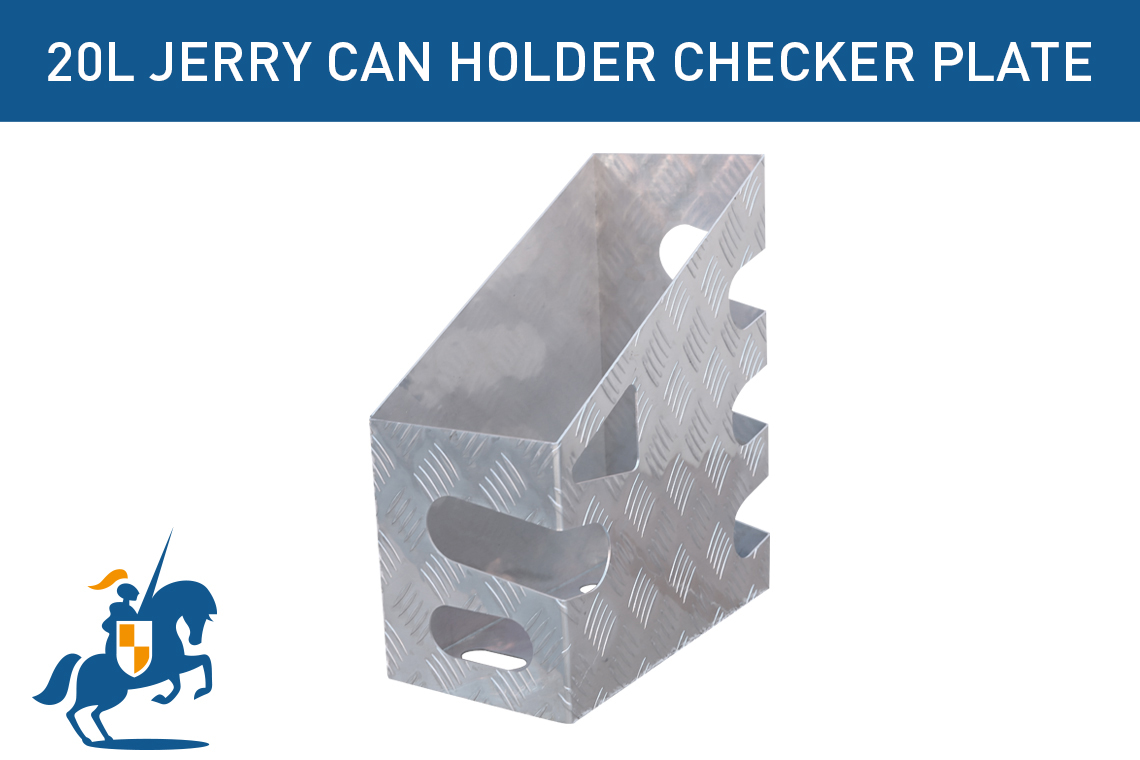 20l Jerry Can Holder Checker Plate
