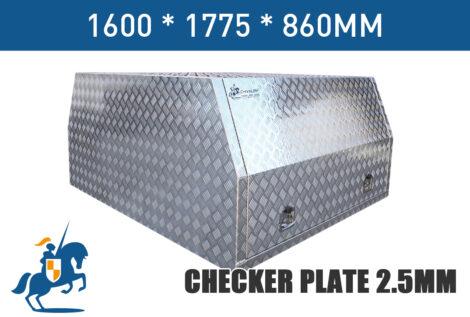 Checker Plate 2.5mm 1600