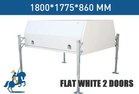 Flat White 2 Doors 1800