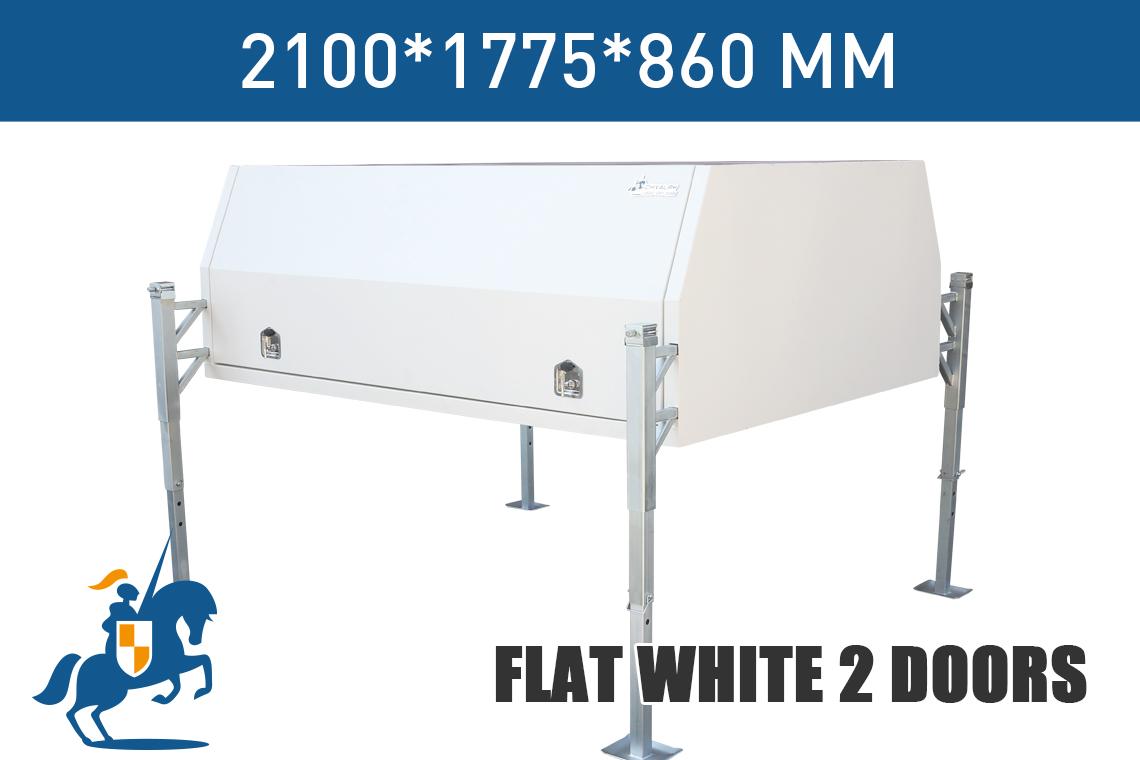 Flat White 2 Doors 2100
