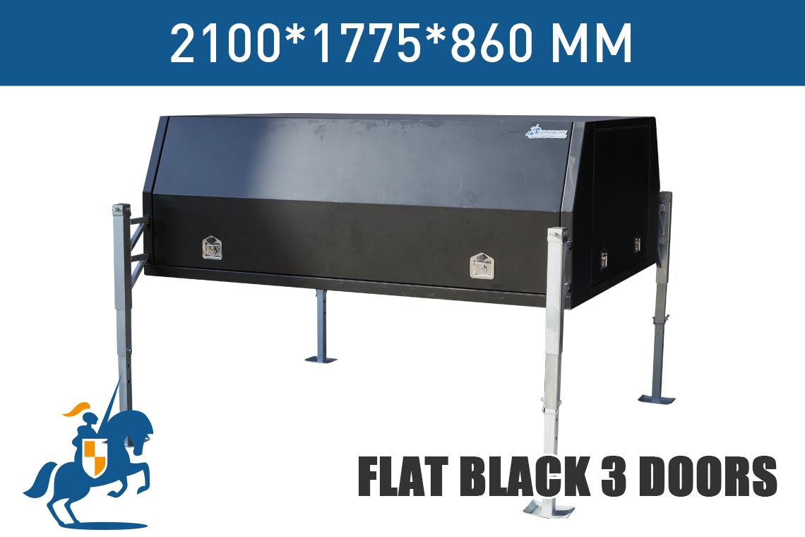 Flat Black 3 Doors 2100