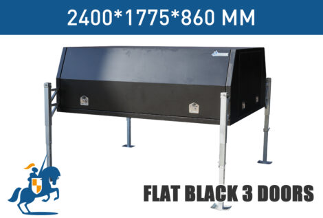 Flat Black 3 Doors 2400