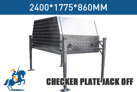 Checker Plate Jack Off 2400